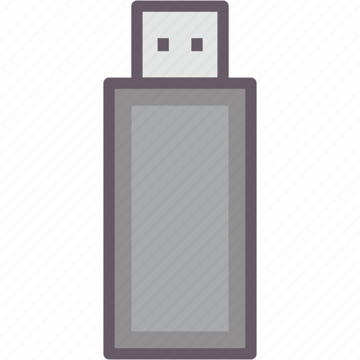 flash, stick, storage, usb icon