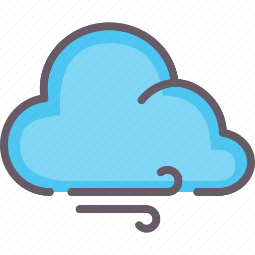 blast, cloud, weather, wind icon