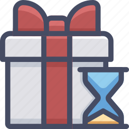 box, cargo, delivery, gift, shipping, wait icon