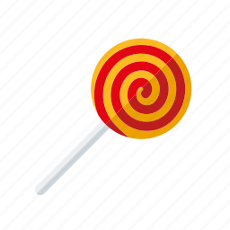 candy, hard candy, lollipop, lolly, spiral, sweets, swirl icon