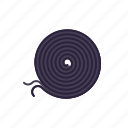 liquorice, snail, licorice, spiral, candy, sweets icon