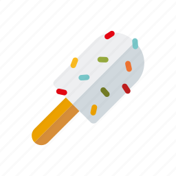 candy, ice cream, popsicle, sprinkles, sweets icon