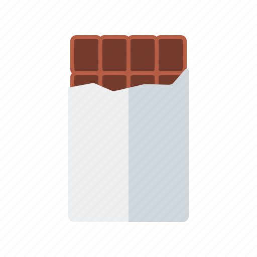 bar, candy, chocolate, sweets, wrapped icon