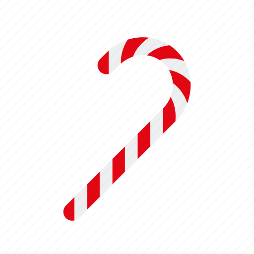 candy, cane, christmas, hard candy, stick, sweets icon