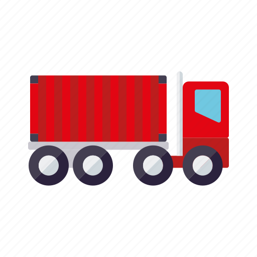 cargo, container, logistics, shipping, transport, truck icon