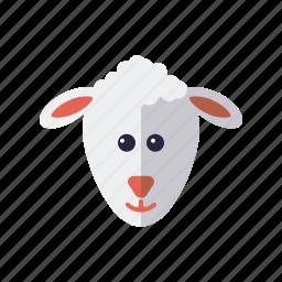 animal, cattle, easter, holidays, lamb, religion, sheep icon
