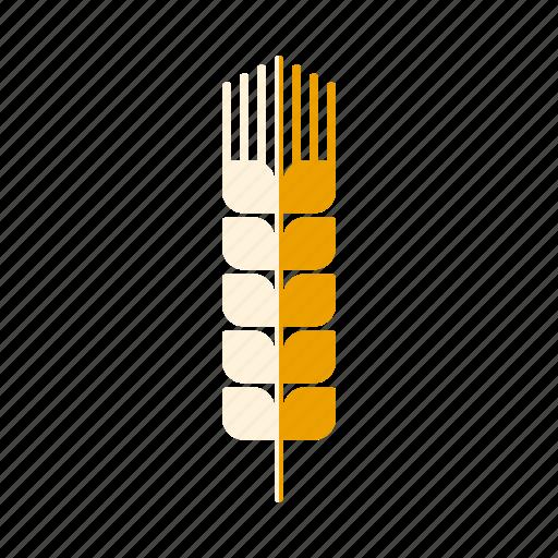 agriculture, cereal plant, ear, farm, food, grain, wheat icon