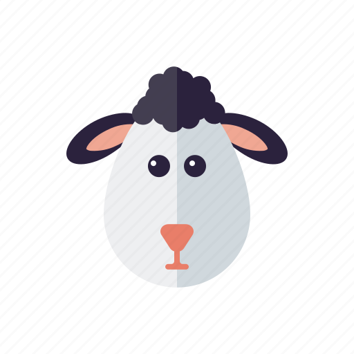 agriculture, animal, farm, lamb, sheep, wool icon