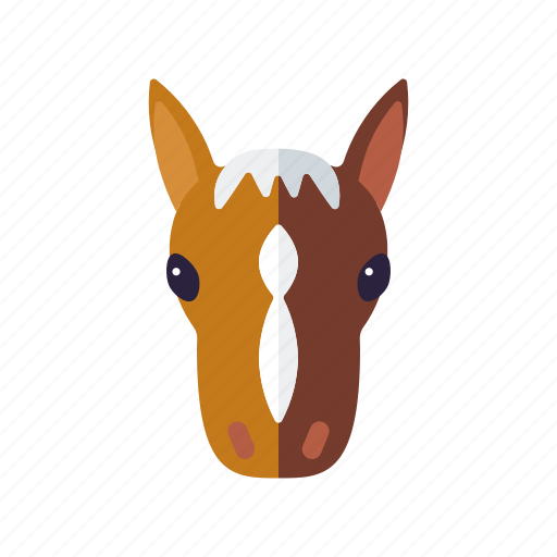 agriculture, animal, colt, farm, foal, horse, pony icon