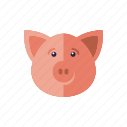 agriculture, animal, cattle, farm, pig, piglet icon