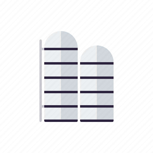 agriculture, building, farm, farming, silo, storage icon
