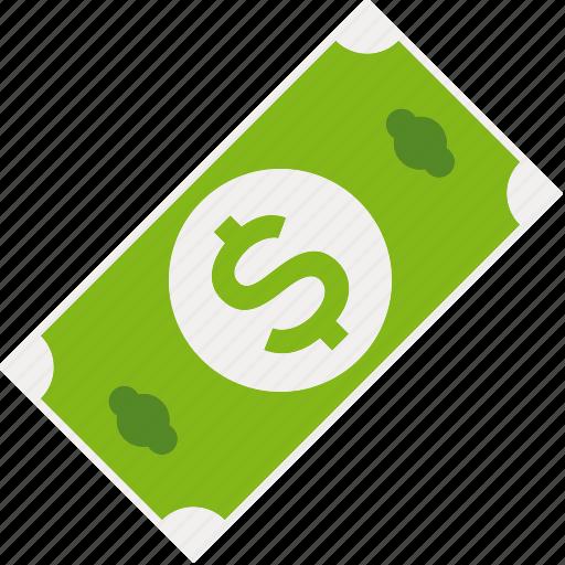 american, bill, cash, currency, dollar, finance, money icon