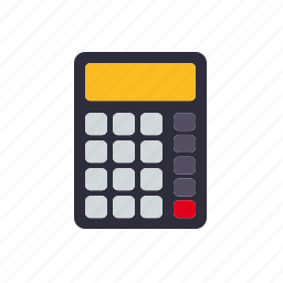 accounting, business, calculator, finance, money icon