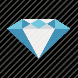 diamond, finance, gem, gem stone, precious, wealth icon