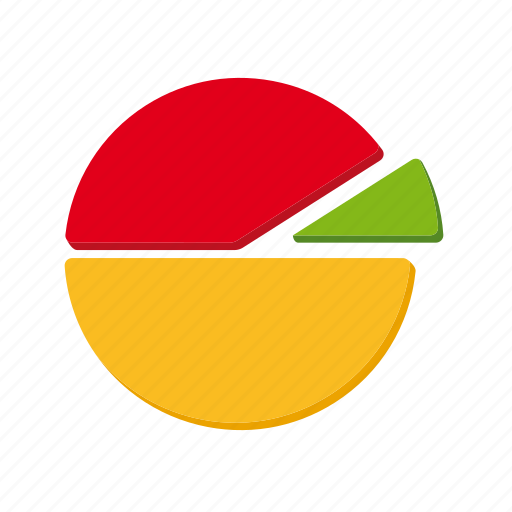 accounting, chart, finance, graph, pie chart icon
