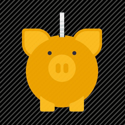 bank, coin, finance, money, piggy, savings icon