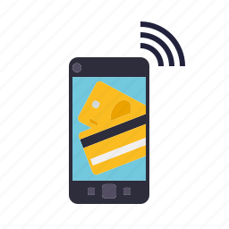 finance, mobile, money, payment, smartphone, transaction icon