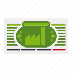 business, certificate, document, exchange, finance, share, stock icon