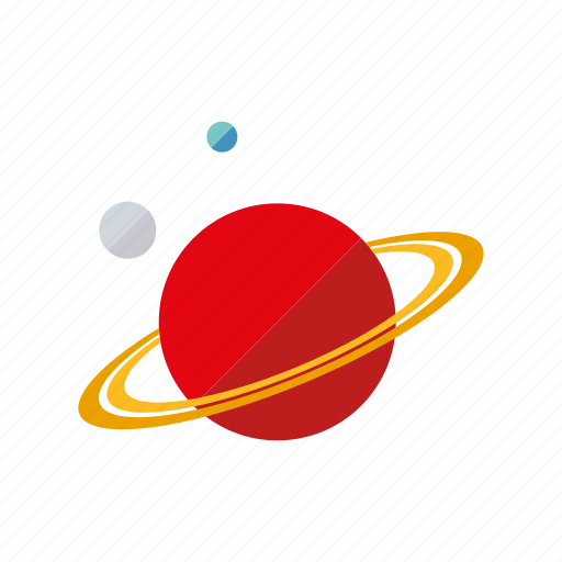 astronomy, orbit, planets, research, saturn, science, space icon