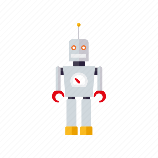 engineering, humanoid, research, robot, robotics, science, technology icon