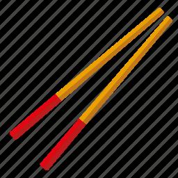 chopsticks, food, japanese, sushi icon
