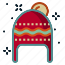 celebration, christmas, clothes, hat, winter icon