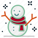 christmas, decoration, snow, snowman, winter, xmas