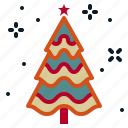 christmas, fir, new, ornament, tree, year icon