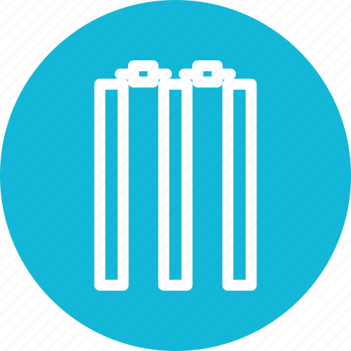 cricket, match, sports, wicket icon icon