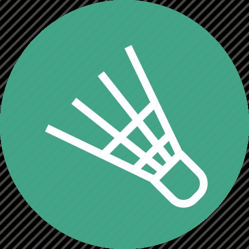 badminton, game, shuttlecock, sports icon icon