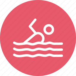 sports, swimmer, swimming, swimming pool icon