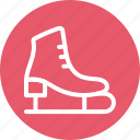 ice skates, ice skating, skates, sports icon icon