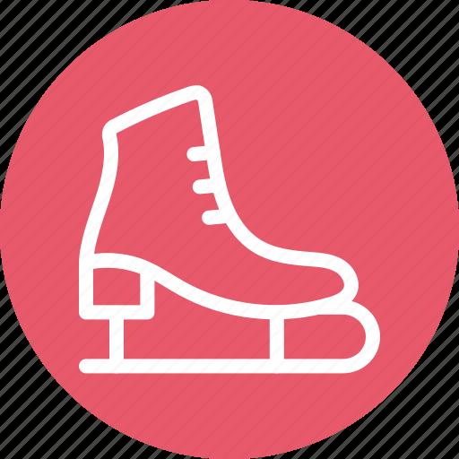 ice skates, ice skating, skates, sports icon icon