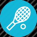 game, racket, sports, tennis icon icon