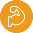 exercise, fitness, muscle, strength icon icon