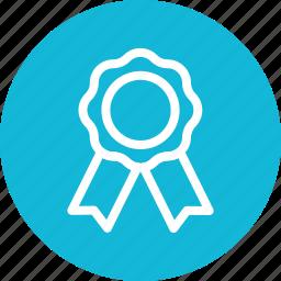 medal, prize, winner icon, • award icon
