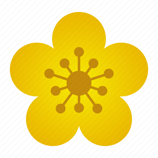 Apricot, blossom, flower, tet holiday, bloom icon - Download on Iconfinder