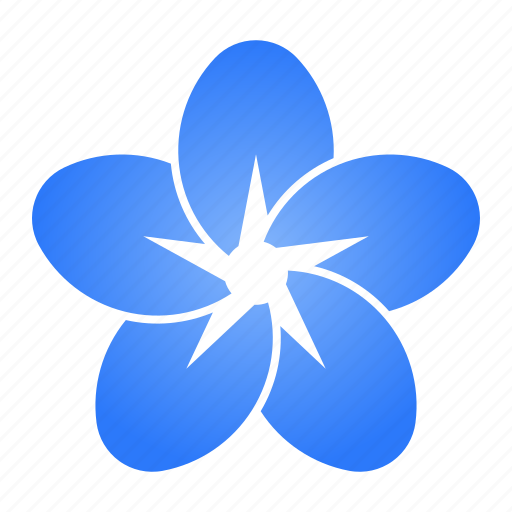 bloom, blue, flower, forget me not, love icon