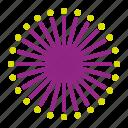 bloom, flower, mimosa, pudica, purple icon