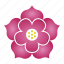 bloom, flower, lotus, patience, purity icon