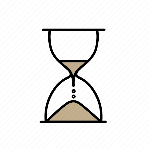 business, dead-line, hourglass, pressure, sand glass, time, timetable icon