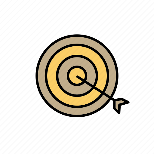 aim, business, company, goal, office, target, work icon