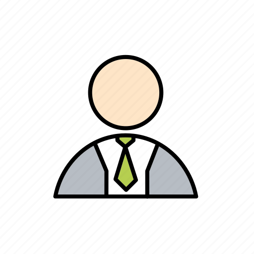 business, employee, office, suit, work, working icon