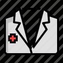 armamentarium, costume, doctor, medicine, suit icon