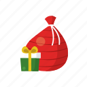 celebration, christmas, gift, present, santa, surprise, wrap icon
