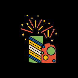 bombs, diwali, festival, fireworks, lights icon