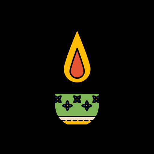 diwali, diya, festival, lights icon