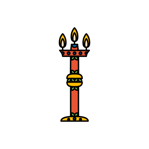 decorations, diwali, festival, lamp, lights icon