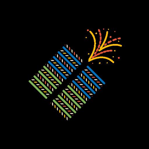 diwali, festival, fireworks, lights, patakas icon