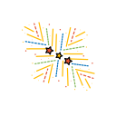 diwali, festival, fireworks, lights, shell icon